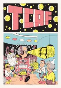 Toronto Comic Arts Festival Poster 2010