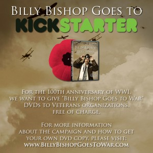 Billy Bishop Goes to Kickstarter